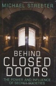 Cover of: Behind Closed Doors | Michael Streeter