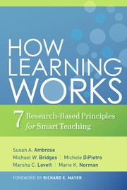 Cover of: How learning works | Susan A. Ambrose