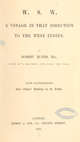 W.S.W by Robert Elwes