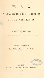 Cover of: W.S.W by Robert Elwes