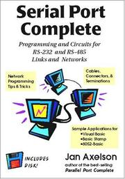Cover of: Serial Port Complete by Jan Axelson