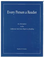 Cover of: Every Person a Reader by Stephen D. Krashen
