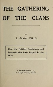Cover of: The gathering of the clans | John Saxon Mills