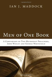 Cover of: Men of one book by Ian J. Maddock
