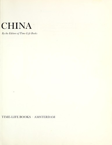 China (Library of nations) by Time-Life Books