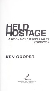 Cover of: Held hostage by Ken Cooper