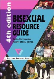 Cover of: Bisexual Resource Guide | Robyn Ochs