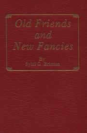 Cover of: Old friends and new fancies by Sybil G. Brinton