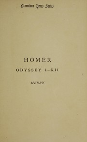Cover of: Odyssey, books I-XII | Homer
