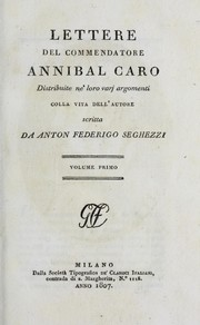 Cover of: Opere del commendatore Annibal Caro by Publius Vergilius Maro