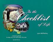 Cover of: In the Checklist of Life by Lynn McPhelimy