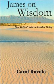 Cover of: James on Wisdom (Faith at work : studies in the book of James) | Carol Ruvolo