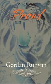 Cover of: Prowl | Gordan Runyan