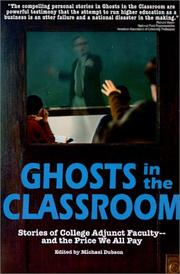 Cover of: Ghosts in the Classroom by Michael Dubson