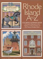Cover of: Rhode Island A to Z | Donna Atwood