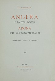 Cover of: Angera e la sua rocca | L. Beltrami