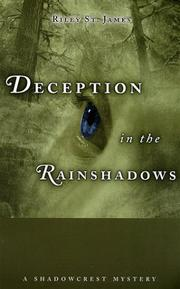Cover of: Deception in the Rainshadows | Riley St. James