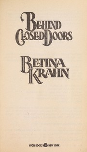 Cover of: Behind Closed Doors by Betina Krahn