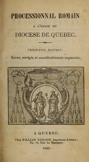 Cover of: Processional (Québec) by Catholic Church