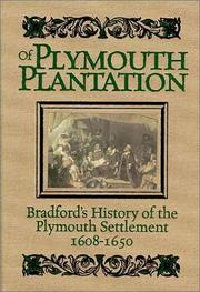 Cover of: Of Plymouth Plantation by William Bradford