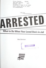 Cover of: Arrested |