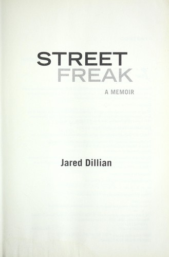 Street freak by Jared Dillian