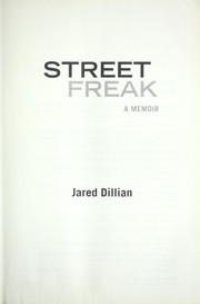 Cover of: Street freak by Jared Dillian