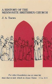 A History of the Mennonite Brethren Church