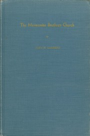 Cover of: The Mennonite Brethren Church | J. H. Lohrenz