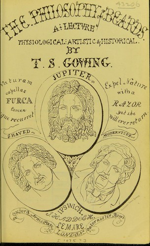 The philosophy of beards by T. S. Gowing