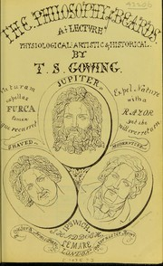Cover of: The philosophy of beards by T. S. Gowing