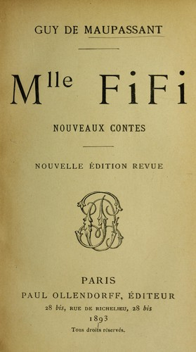 Mlle. Fifi by Guy de Maupassant