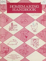 Homemaking handbook; for village workers in many countries