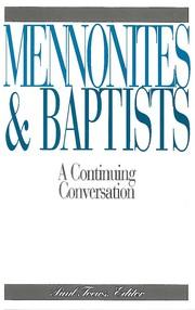 Mennonites and Baptists