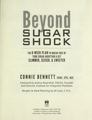 Cover of: Beyond sugar shock by Connie Bennett