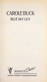 Cover of: Blue Sky Guy by Carole Buck