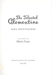 Cover of: The Talented Clementine | Sara Pennypacker
