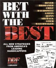 Cover of: Bet With the Best | Andrew Beyer