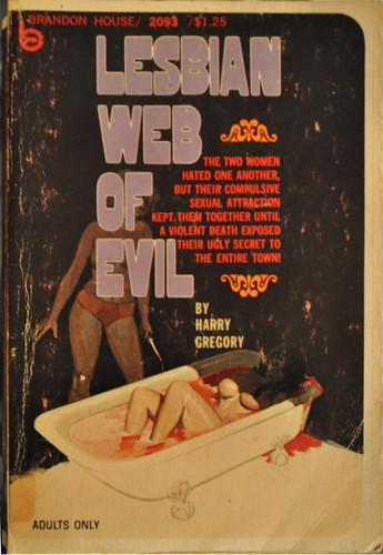 Lesbian web of evil by Harry Gregory