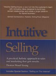 Cover of: Intuitive Selling | Thomas Wood-Young