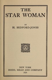 Cover of: The star woman | H. Bedford-Jones