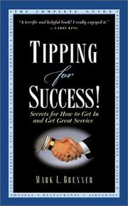 Cover of: Tipping for Success | Mark L. Brenner
