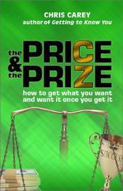 Cover of: The Price and the Prize | Chris Carey