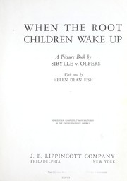 Cover of: When the root children wake up by Helen Dean Fish