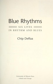 Cover of: Blue rhythms | Chip Deffaa