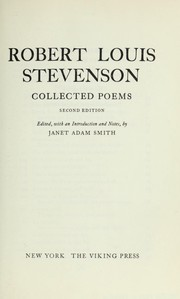Cover of: Poems | Robert Louis Stevenson