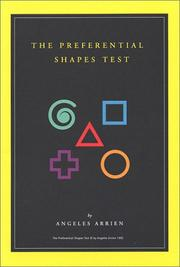 Cover of: The Preferential Shapes Test by Angeles Arrien