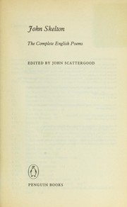 Cover of: Selections by John Skelton