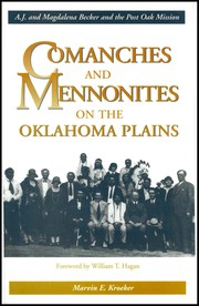 Cover of: Comanches and Mennonites on the Oklahoma Plains | Marvin E. Kroeker