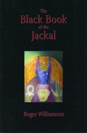 Cover of: Black Book of the Jackal | Roger Williamson